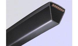 Klínový řemen pohonu sekačky rozměry Li 610mm La 648mm