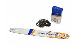 Vodící lišta 40cm + pilový řetěz 56 článků 3/8 1,3mm pro Husqvarnu