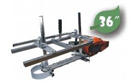 Univerzální přípravek na řezání prken vhodné lišty 35cm - 92cm (14