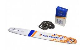 Vodící lišta 45cm + pilový řetěz 74 článků .325 1,6mm pro Stihl