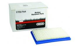 Vzduchový filtr do sekaček s motorem B&S 3,5+4kM Max / 2 takt (5 ks.)