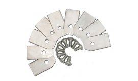 Žací nůž solárních sekaček - sada 9ks. OREGON