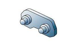 Spojovací článek s nýtem 25AP - 1/4 1,3mm